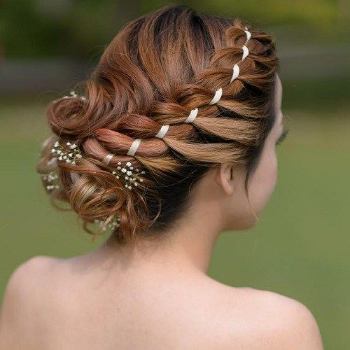 19 Ways To Up Your Braid Game Hair Styles Ribbon Hairstyle Track Hairstyles