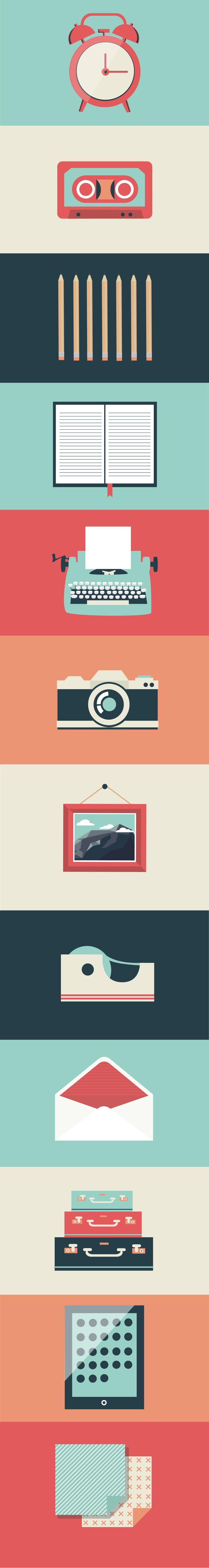 https://www.behance.net/gallery/15720589/Office-Illustrations