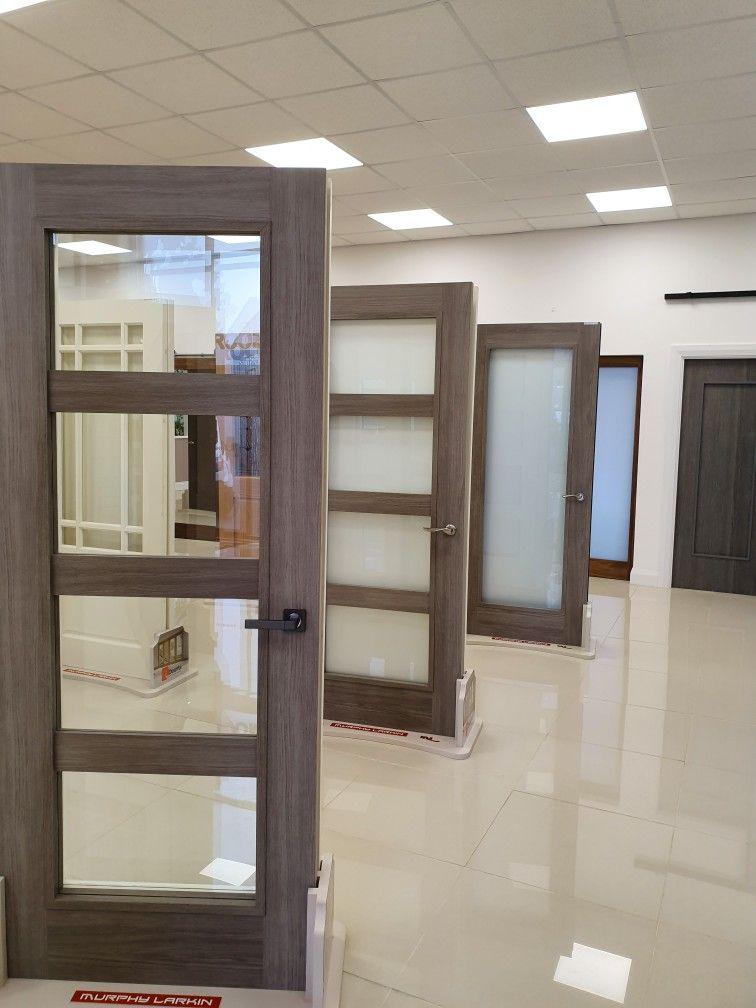 Grey Daiken doors by Murphy Larkin Grey doors, Bathroom