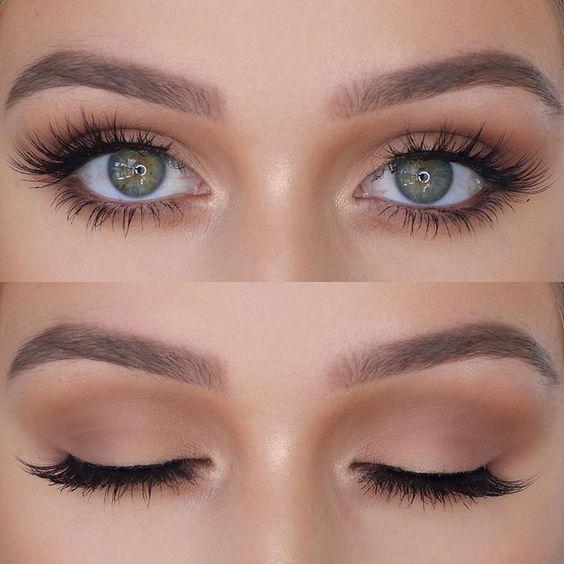 22 Wunderschönes Augen-Make-up für grüne Augen – Dress Models #beautyeyes