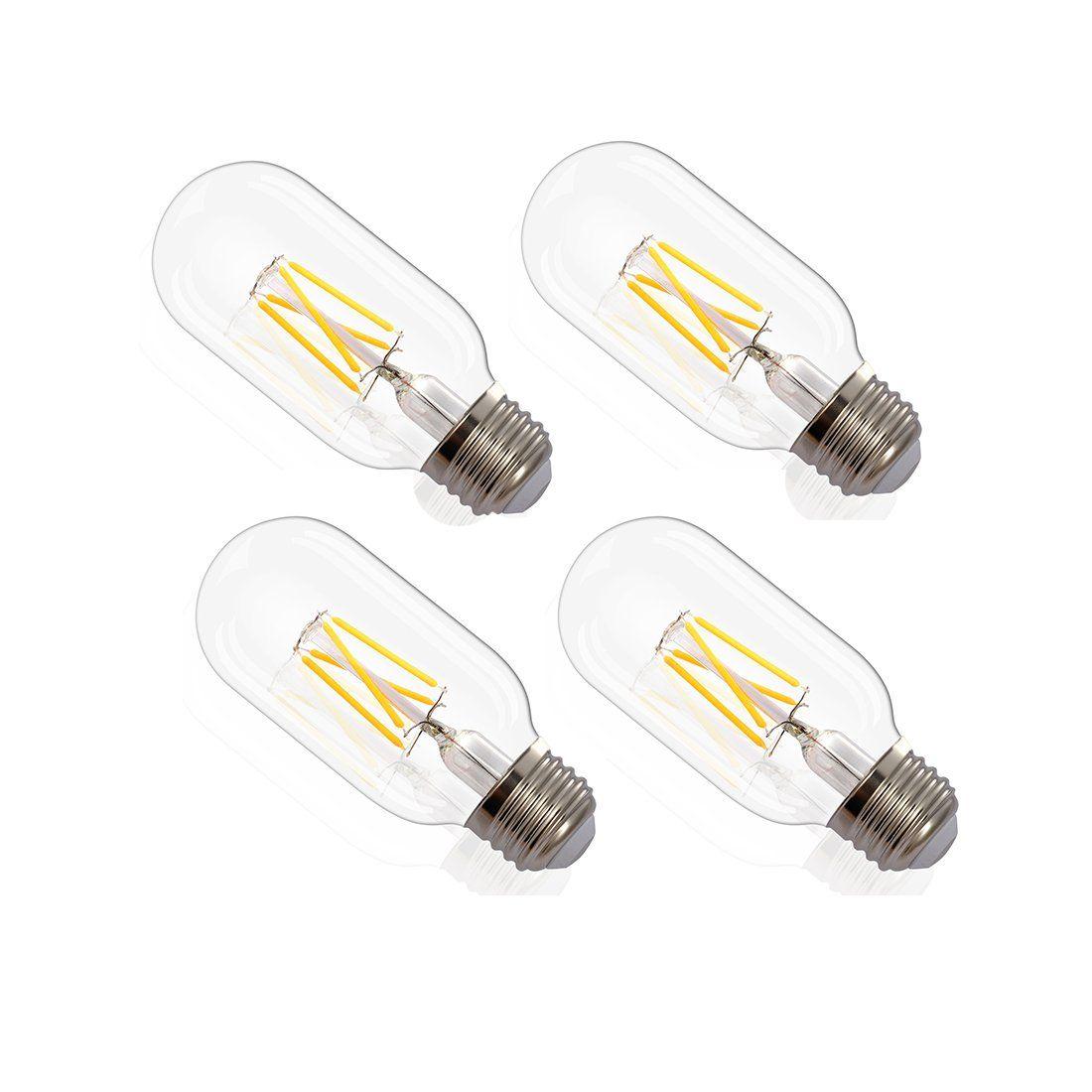 4packs 6w White Light Bulb Edison Highlighted Energy Saving Led Bulb Retro Bubblei œt 45i œelongated Wedding Decoration Light Bulb To