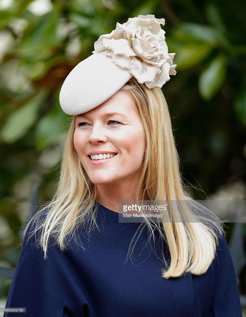 (EMBARGOED FOR PUBLICATION IN UK NEWSPAPERS UNTIL 48 HOURS AFTER CREATE  DATE AND TIME) Autumn Phillips attends the Easter Matins service at St  George s ... b96340224dbd