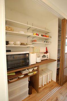 おしゃれ キッチン背面収納実例 参考レイアウト集 無印良品の家