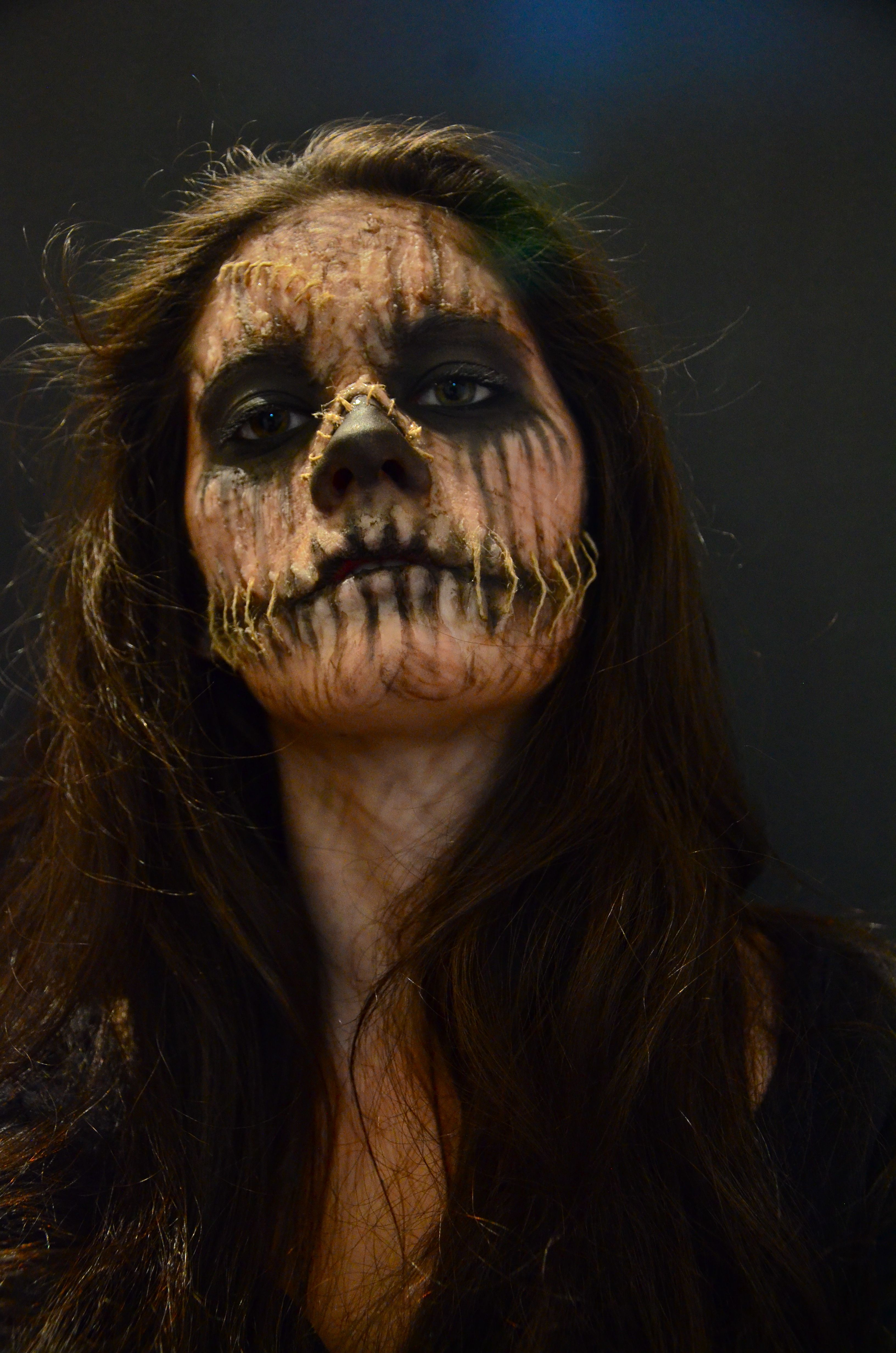 Scarecrow Special effects makeup for halloween Check out the rest ...