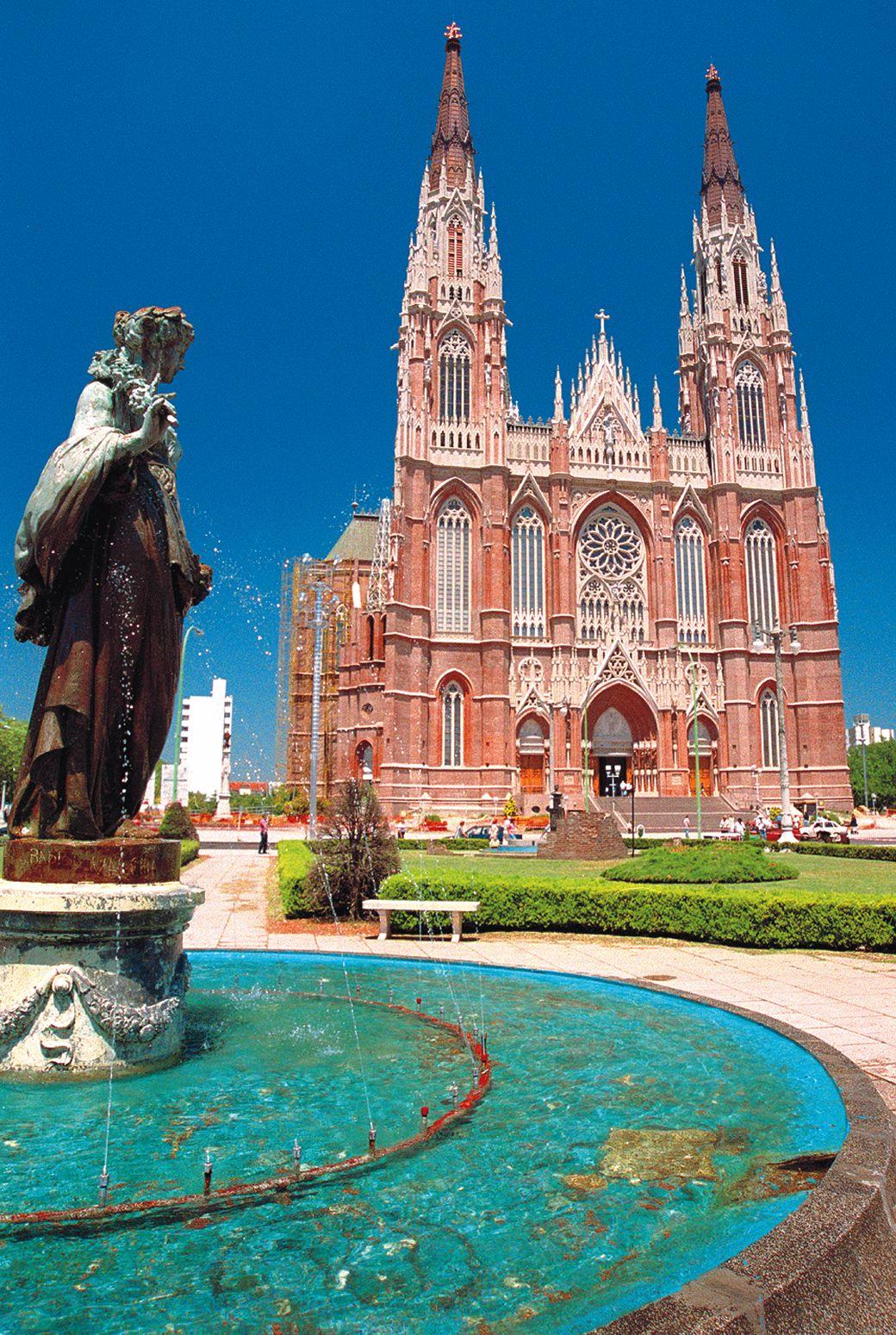Argentina, Buenos Aires, La Plata, Nuestra Señora de Lujan Cathedral
