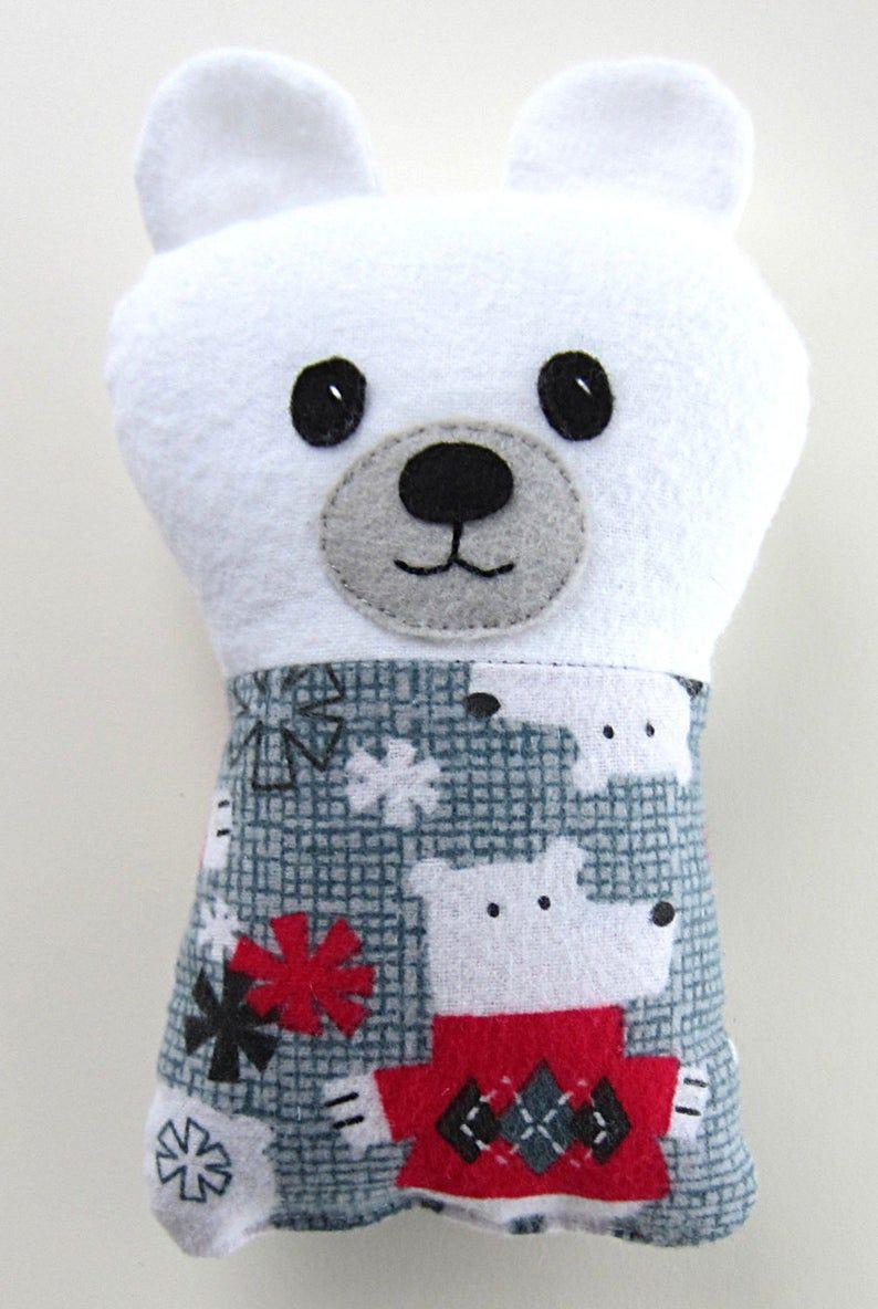 Baby Panda Bear PDF Sewing Pattern Teddy Bear included Digital Download Tutorial Fabric Softie Gift #babypandabears