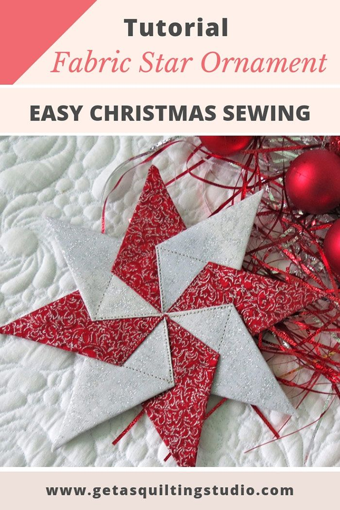 Christmas Quilt Patterns Fabric christmas ornaments