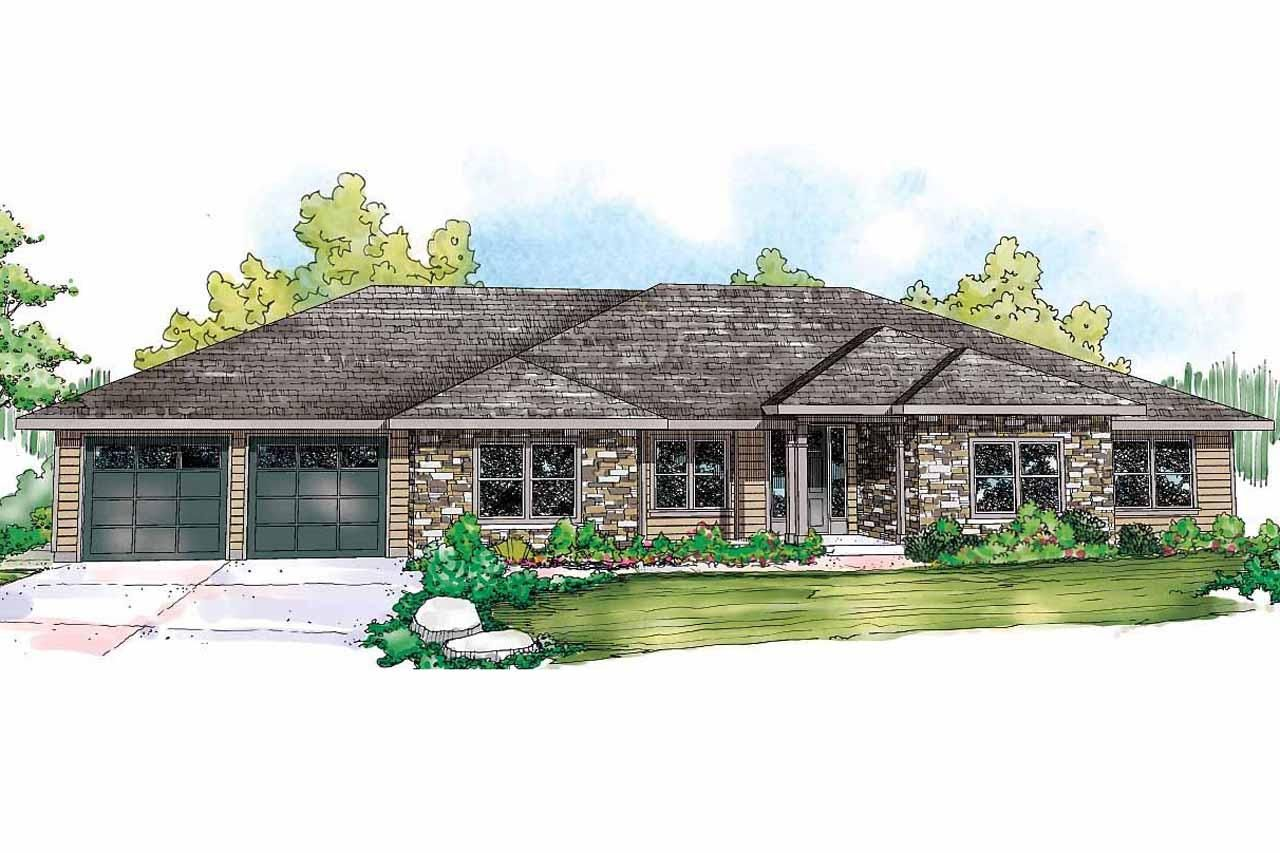 Ranch House Plan West Creek 30 781