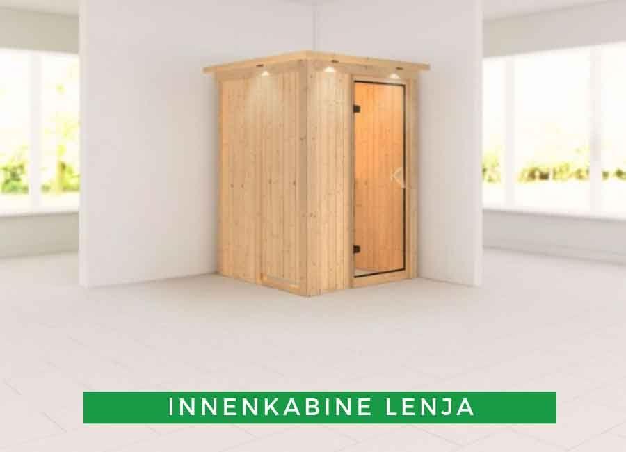 Karibu Sauna Innenkabine Lenja in 2019 | Innensauna: Die ...