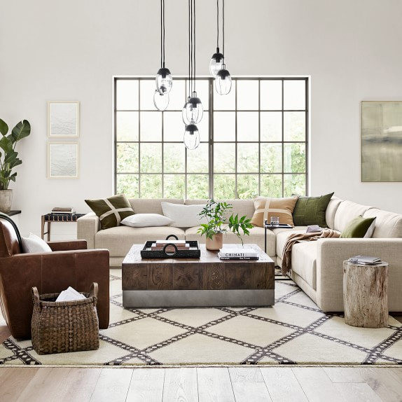 Merced Rectangular Coffee Table Living Room Inspiration Luxury Furniture Room Colors