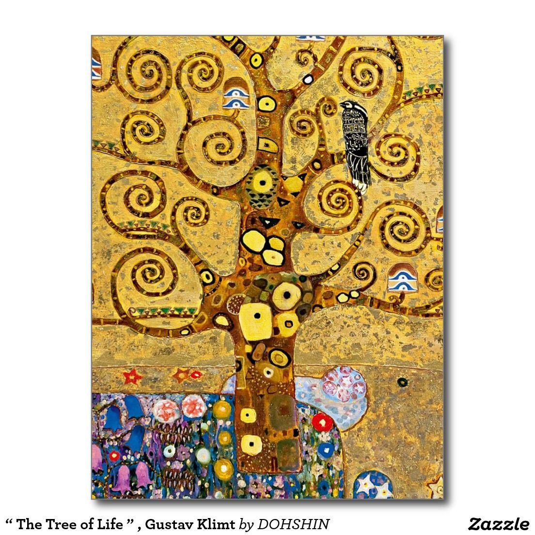 """The Tree of Life """" , Gustav Klimt ポストカード   Klimt"""