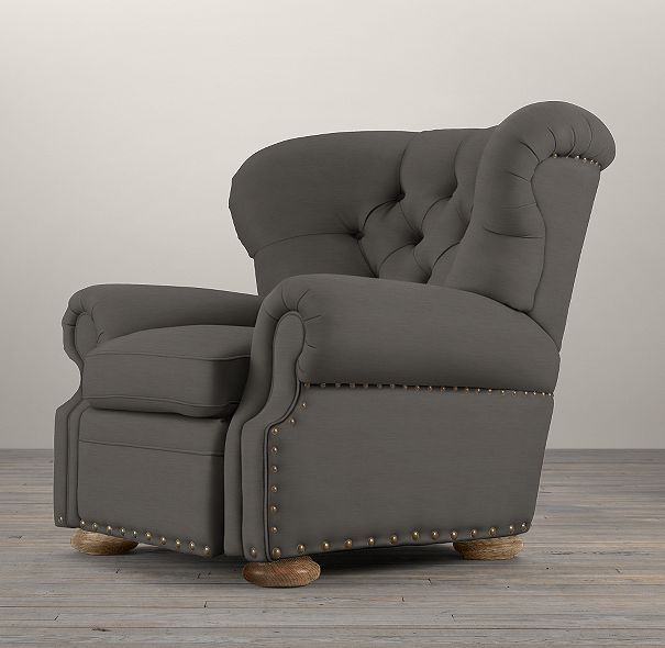 Churchill Recliner With Nailheads Furniture Recliner