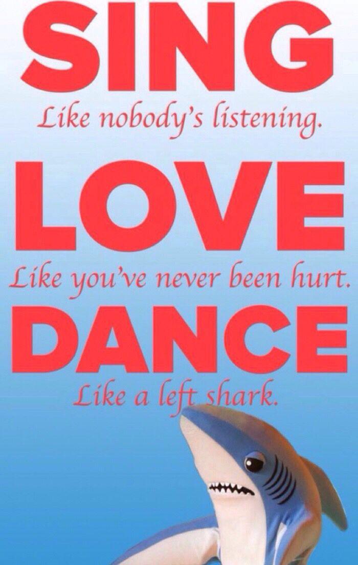 Dance like a left shark