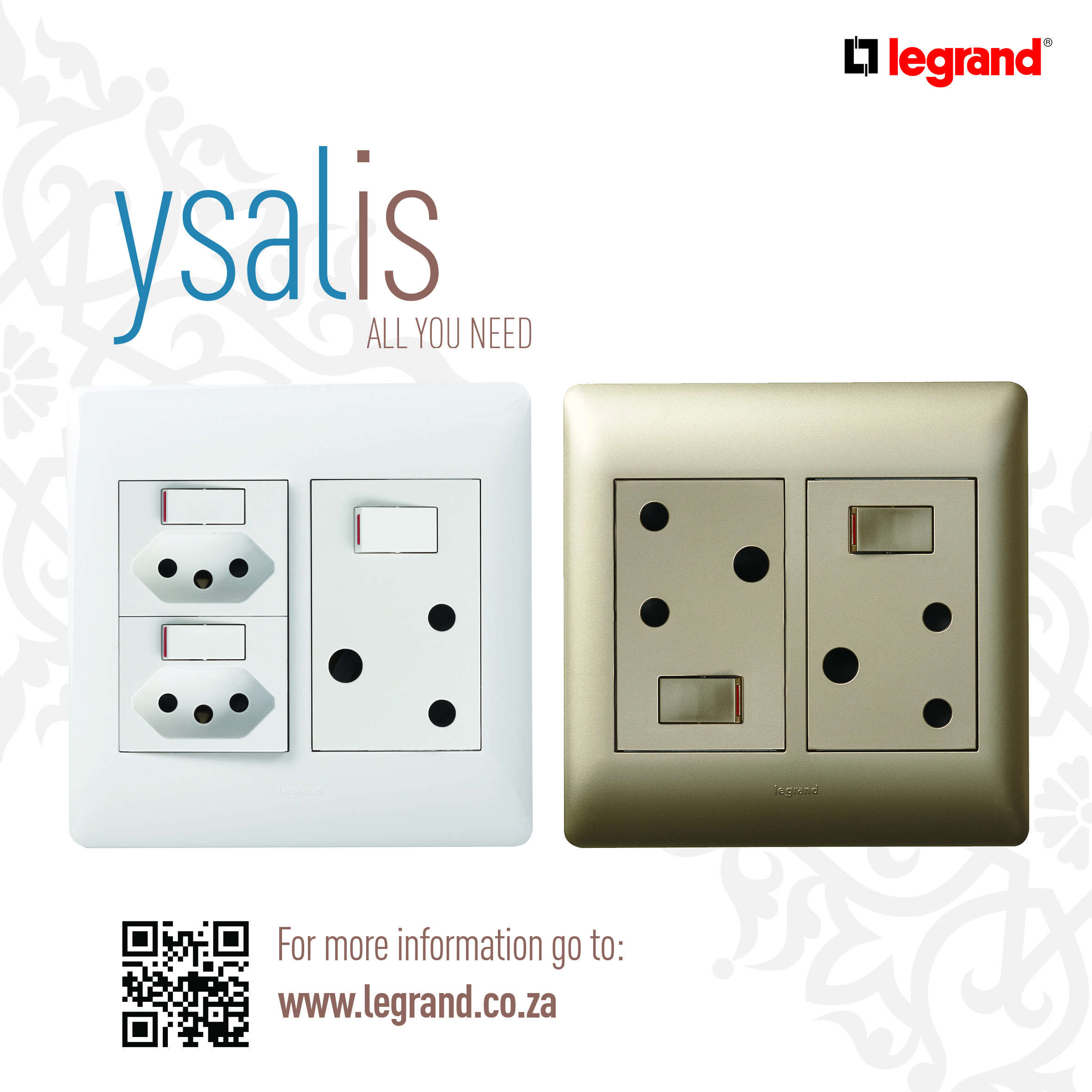 Discover #Ysalis the unique range of switches and sockets from ...