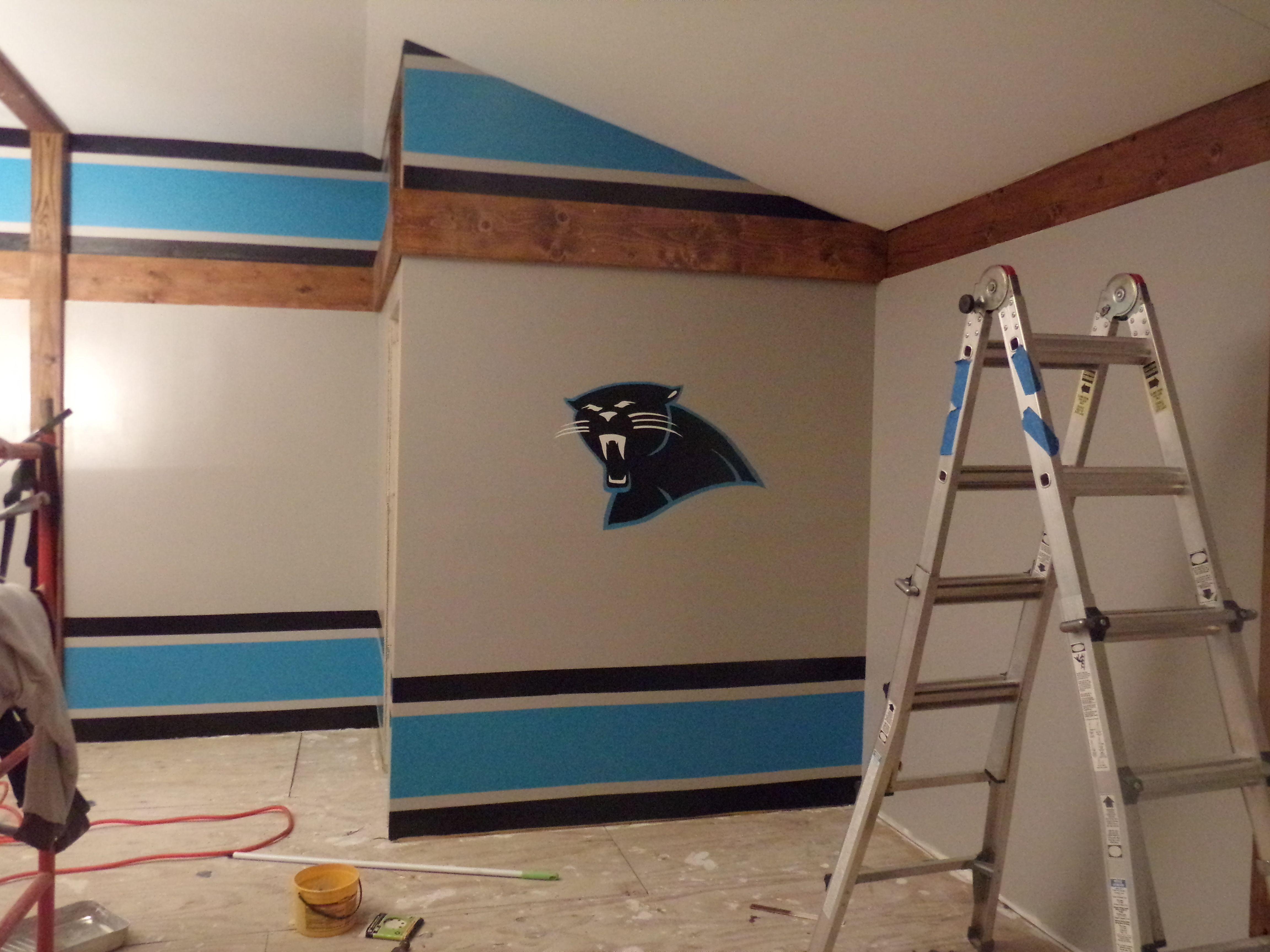 Carolina Panthers Room Decor