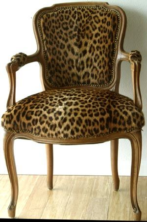 3 This Chair Leopard My Favorite Color Furniture