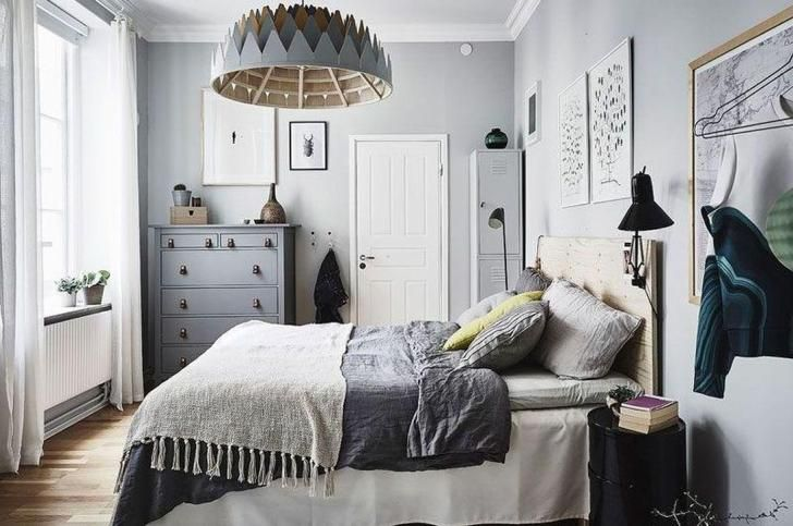 47 Brilliant Scandinavian Bedroom Design Ideas Design In 2020 Chic Bedroom Design Scandinavian Bedroom Modern Bedroom