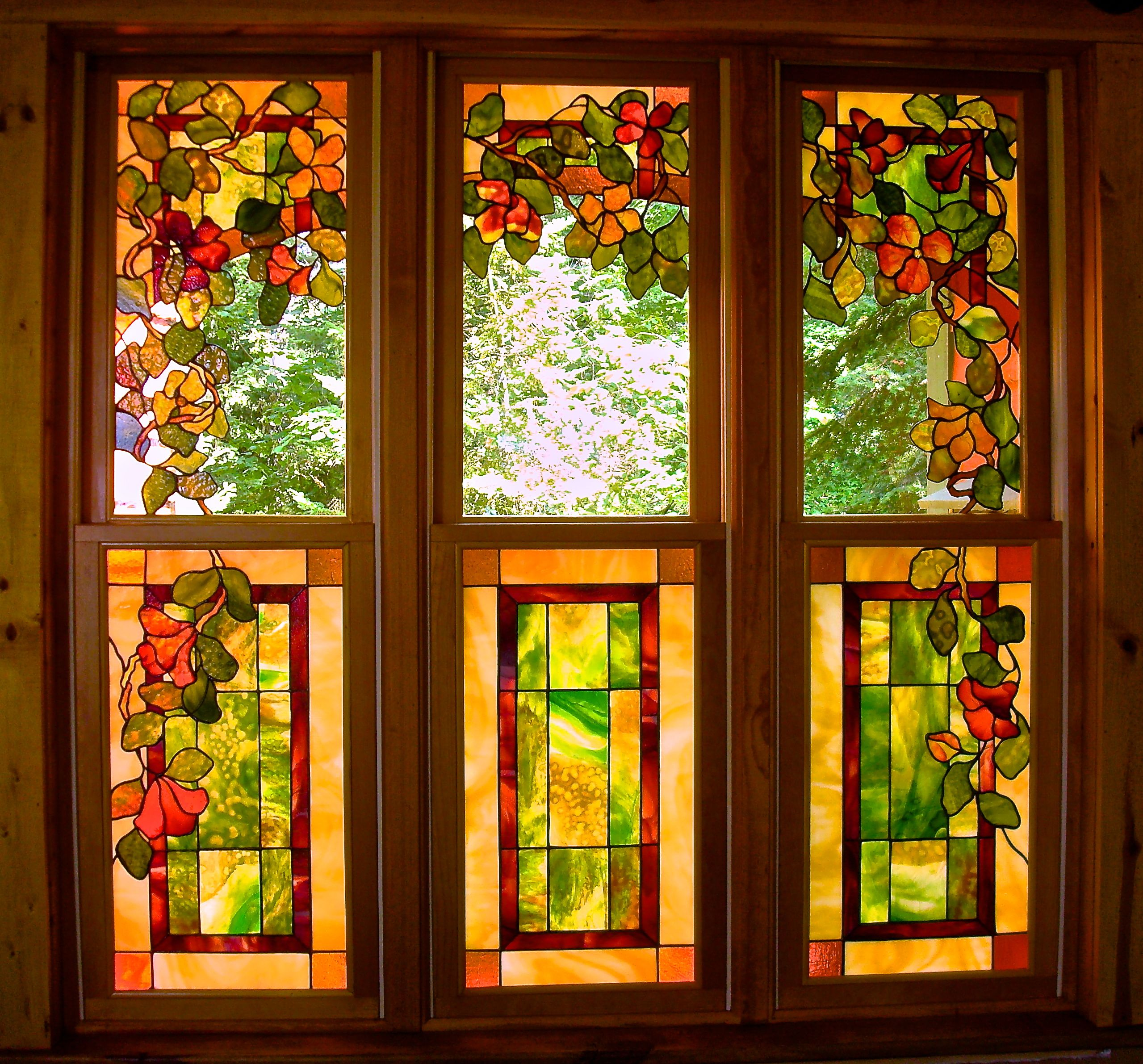 Kit Crawford Stained Glass Original stained glass art