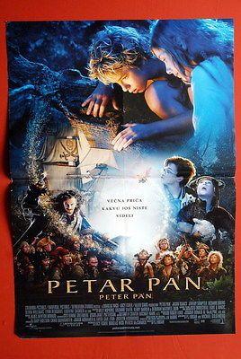PETER PAN JEREMY SUMPTER 2003 OLIVIA WILLIAMS RARE SERBIAN MOVIE POSTER
