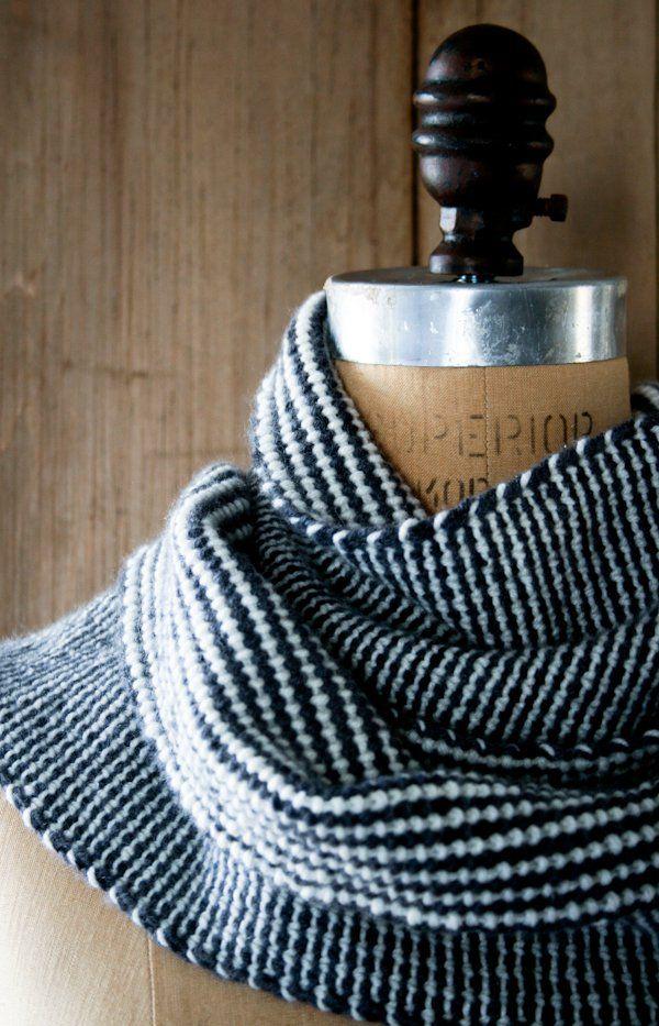 Reversible Stripes Scarf | Pinterest | Cosas para hacer y Cosas