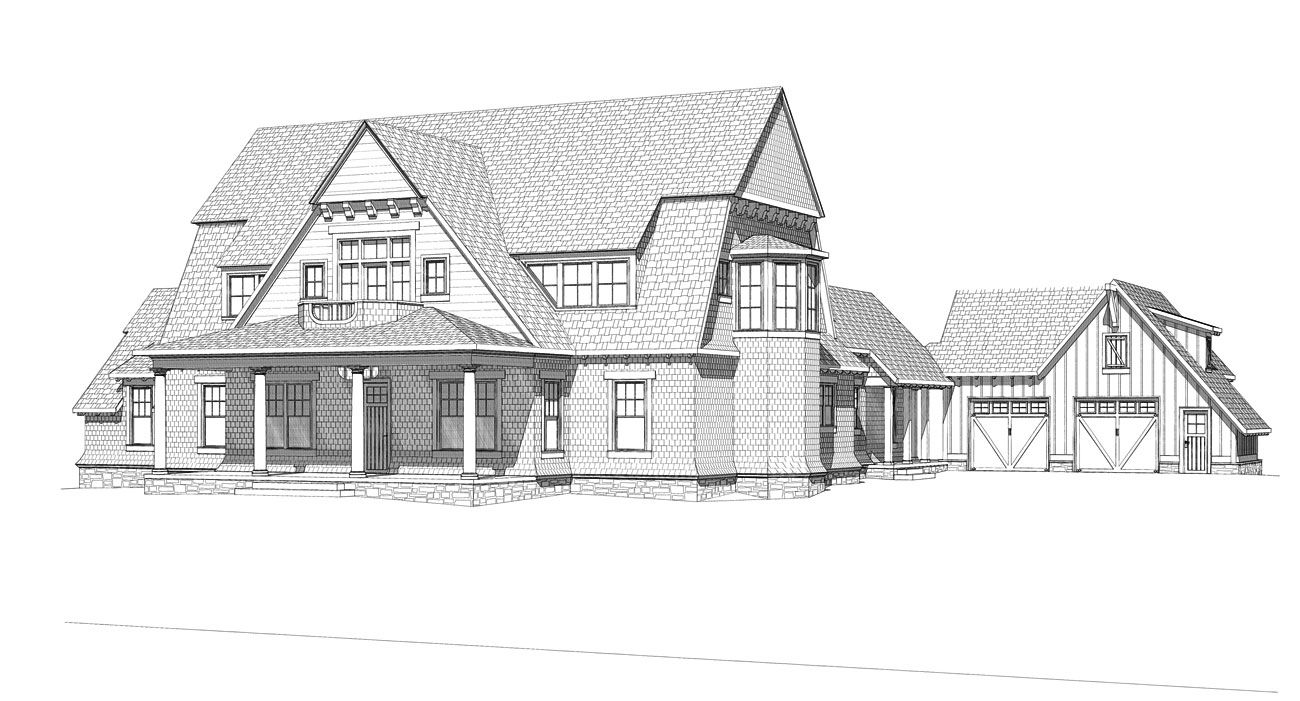 Victorian shingle style house plans house design plans for Shingle style beach house plans