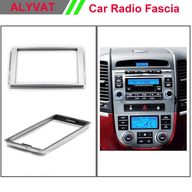 Top Quality Car Facia Dvd Frames For Hyundai Santa Fe 20062012 Rhpinterest: Hyundai Santa Fe Radio Bezel At Gmaili.net