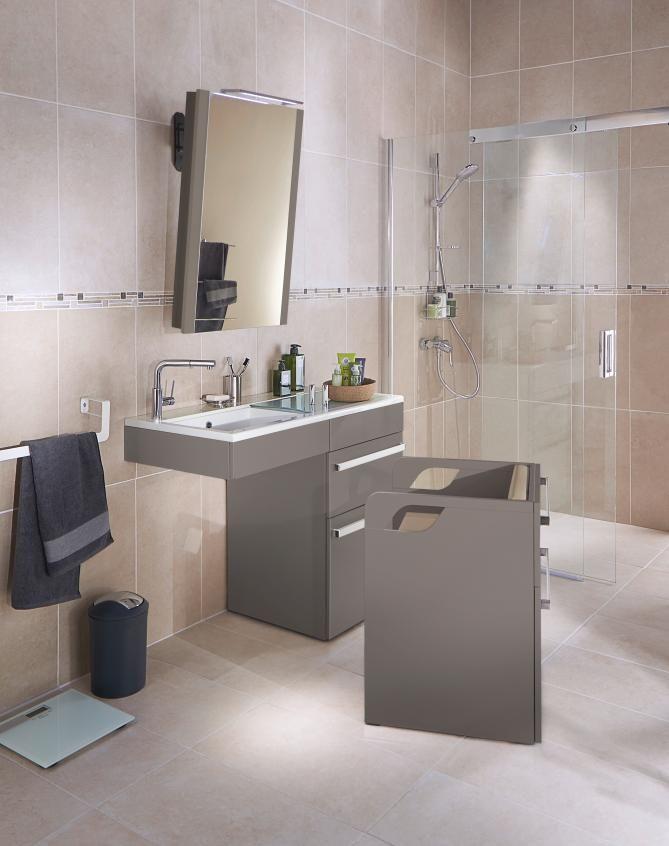 INNOVATION! Le meuble Concept\u0027 Care est le meuble de salle de bains