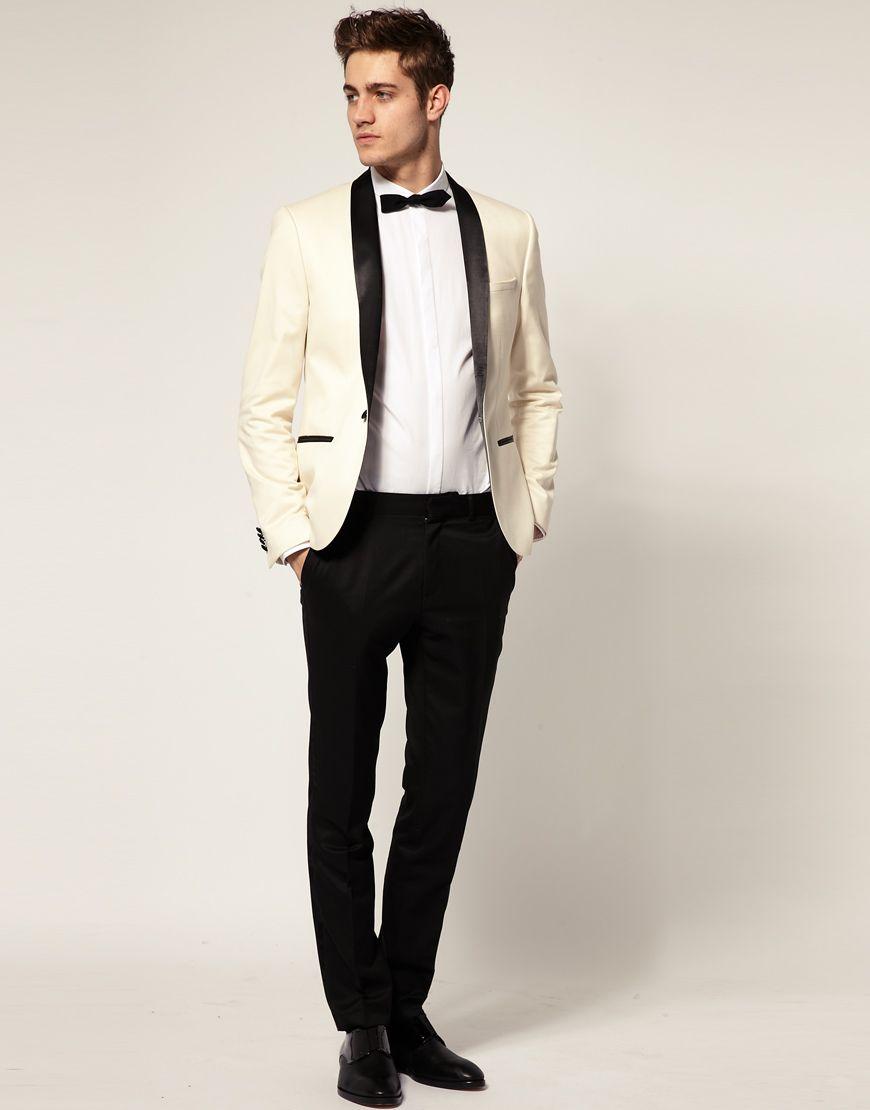 ASOS Slim Fit Tuxedo Suit Jacket | Sale 80.00 | Natty Guyu2122 | Pinterest | Slim fit tuxedo Suit ...