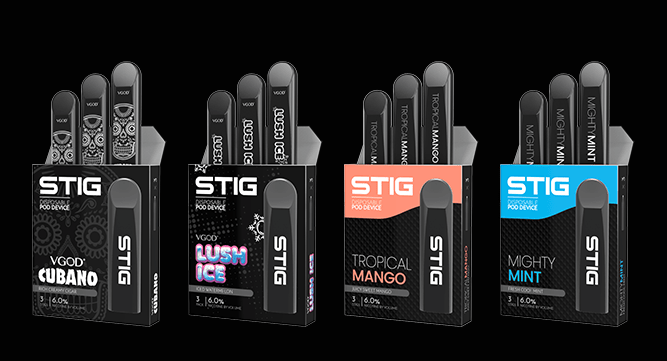 VGOD STIG Pod | www mainsmokeshop com | Smoke shops, Smoke