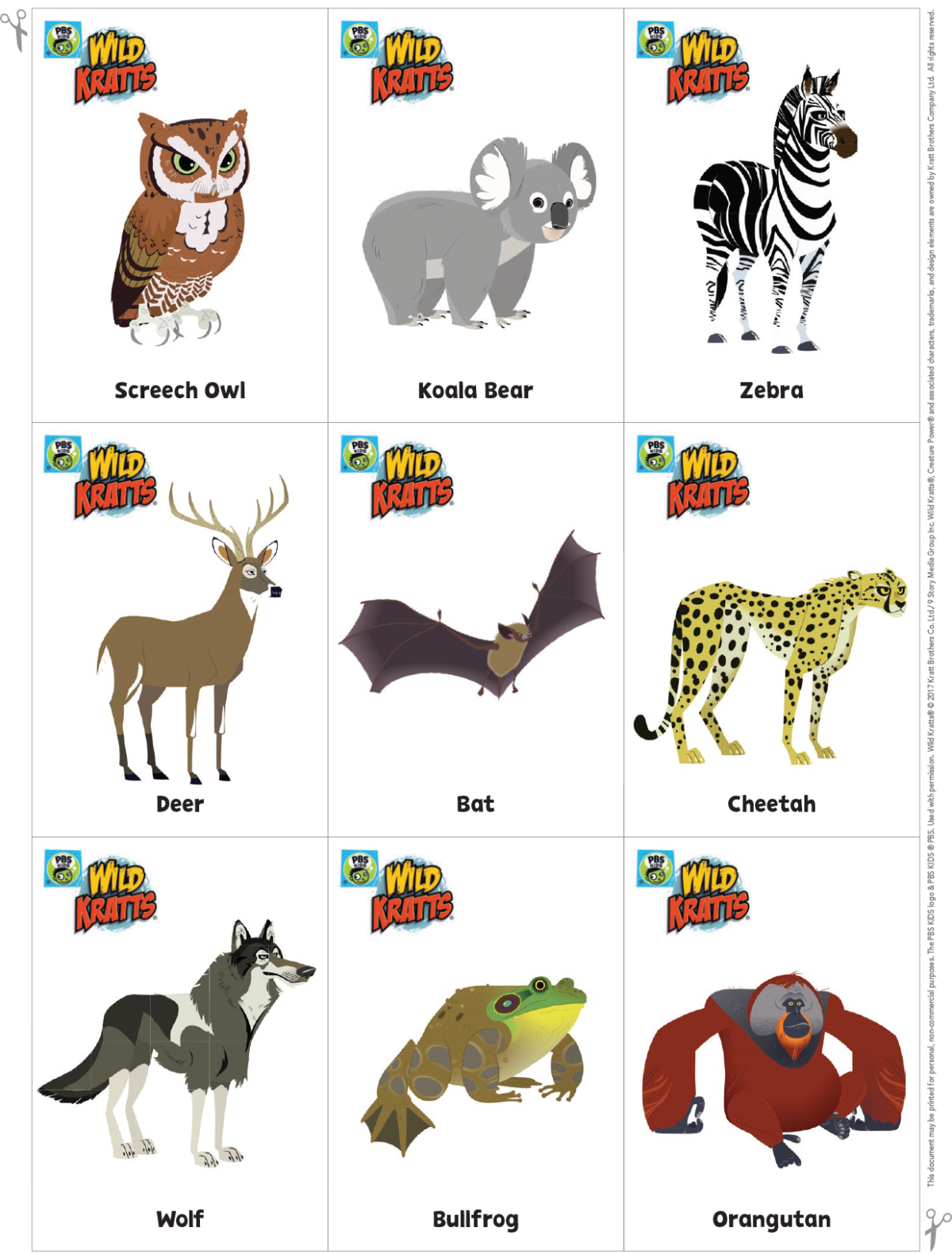 Go Wild Card Game Kids Coloring Pages Pbs Kids For Parents Wild Kratts Birthday Party Wild Kratts Birthday Wild Kratts Party [ 1581 x 1200 Pixel ]