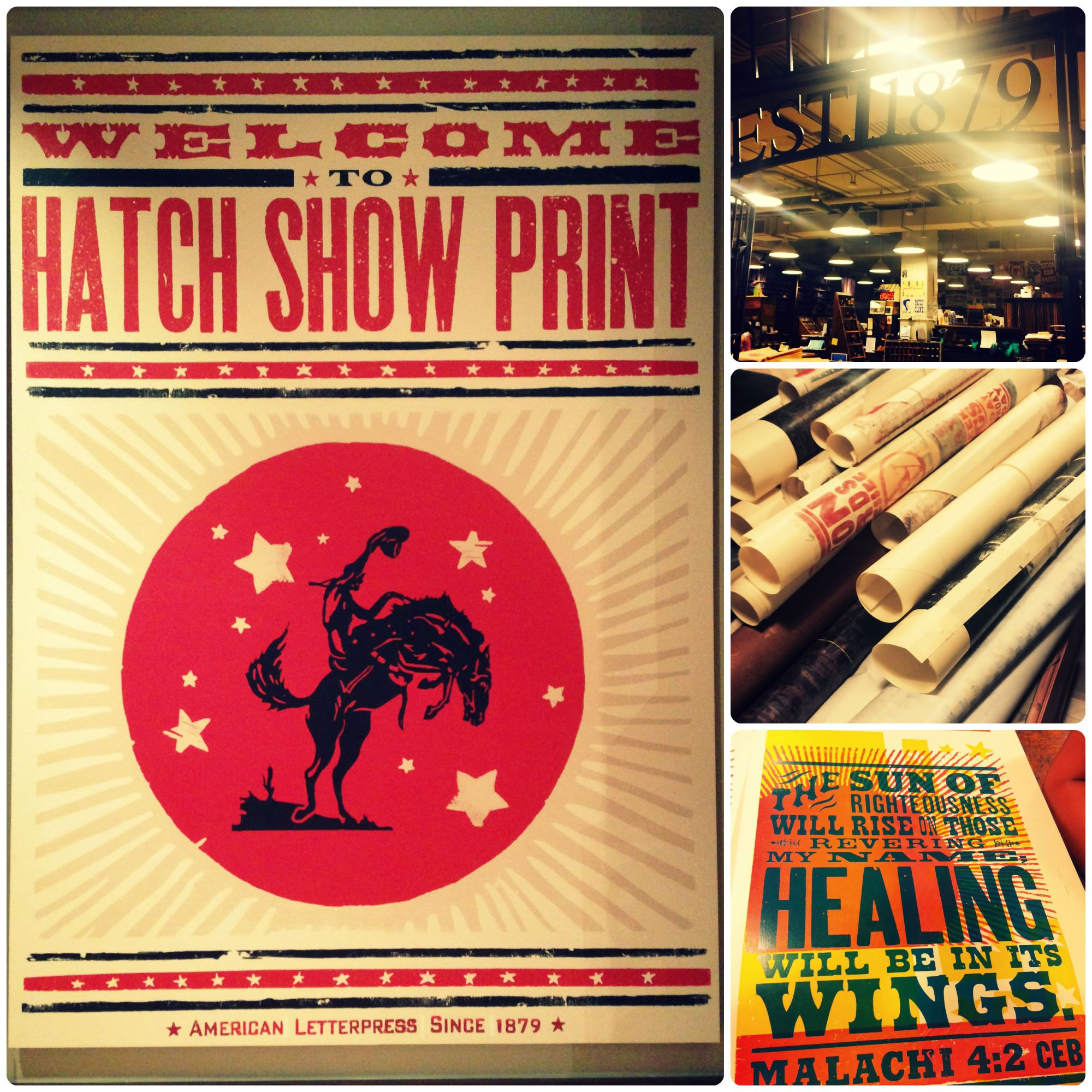 The Common English Bible and Hatch Show Print have partnered to ...