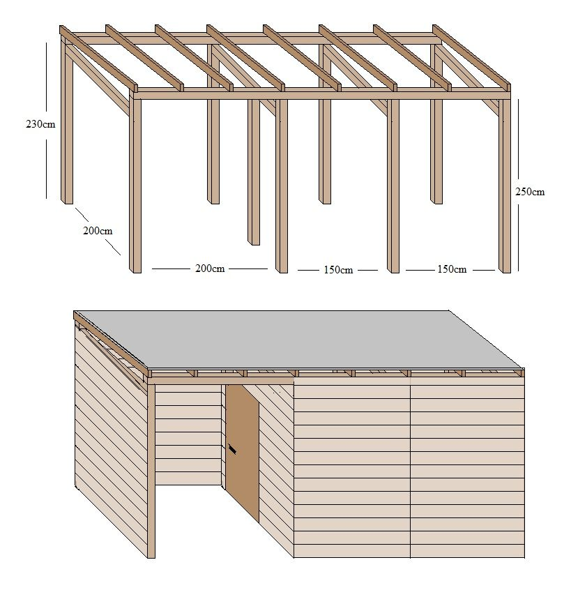 Schuppen Selber Bauen Build Your Own Shed Pergola Shade Cloth Garden