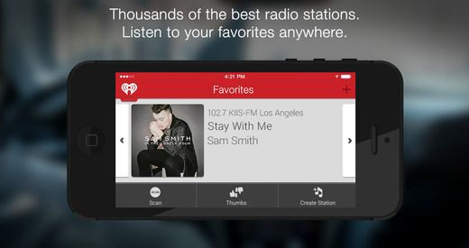 iHeartRadio for Auto (iOS) Get the best of iHeartRadio