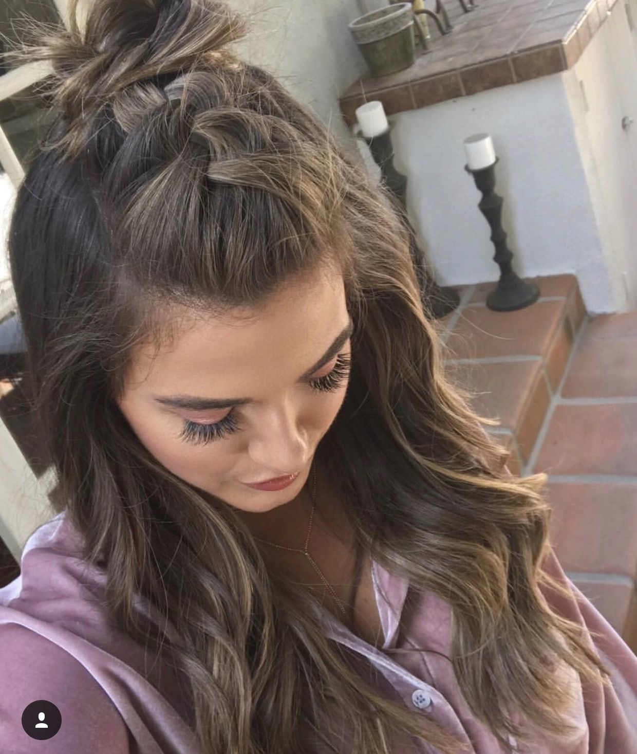 Pin By Caitie Collins On Makeup Hair Nails Braided Bun