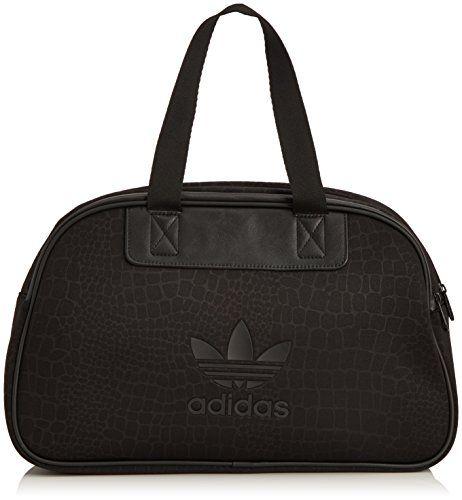 2e6cb816fd3093 adidas Damen Tasche Python Bowling, Black, 13 x 40 x 24.5 cm, 14 Liter,  S20035