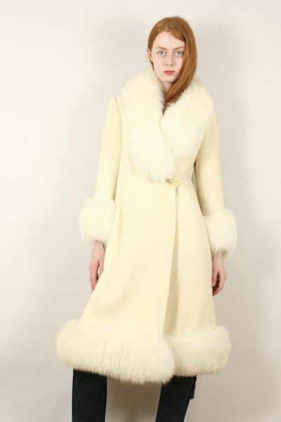 RUSSIAN PRINCESS COAT fox fur trim · Devorado NYC | Projects to ...