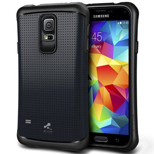 Black Friday [Charcoal Black] Verus Samsung Galaxy S5 Case [Thor] - Extra Slim Fit Dual Layer Hard Case - Verizon, AT