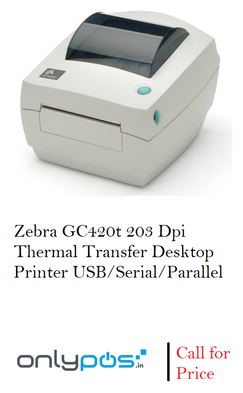 The GC420t thermal transfer printer and the GC420d direct thermal