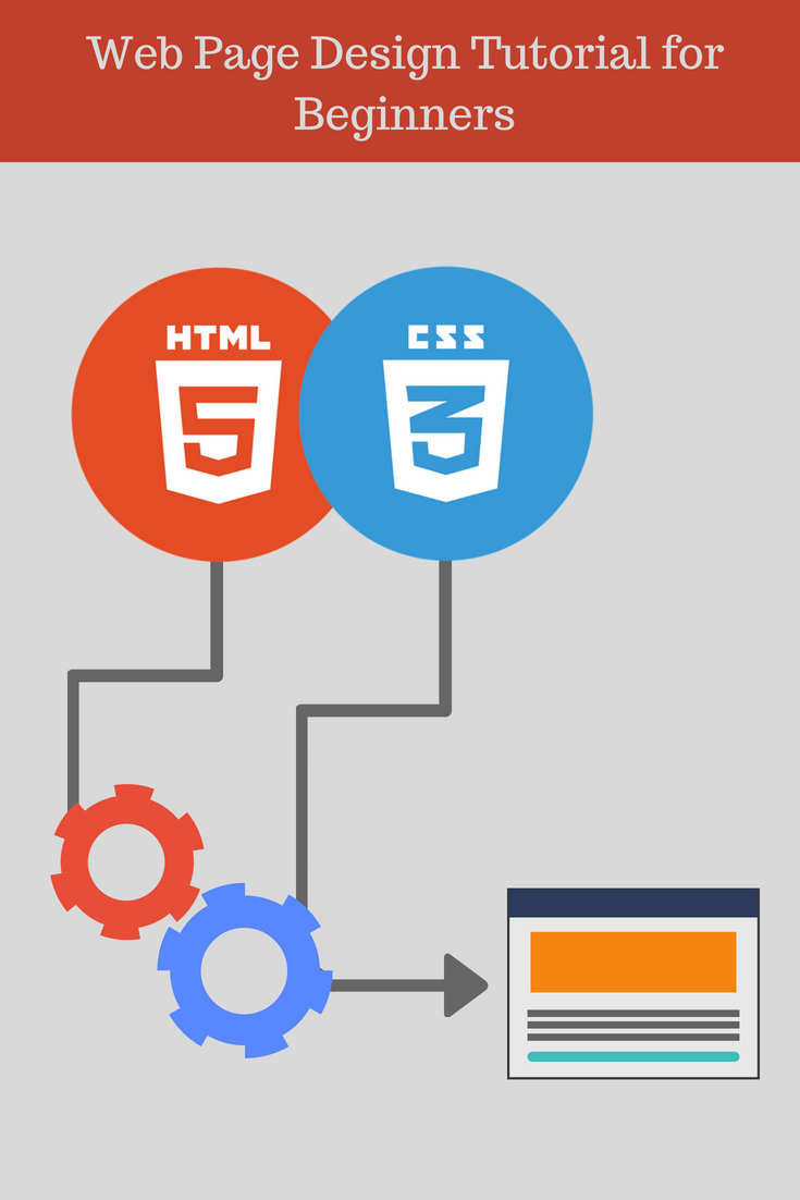 Create A Simple Web Page Design Using Html And Css Web Development Tutorial Web Development Tutorial Web Development Tutorial