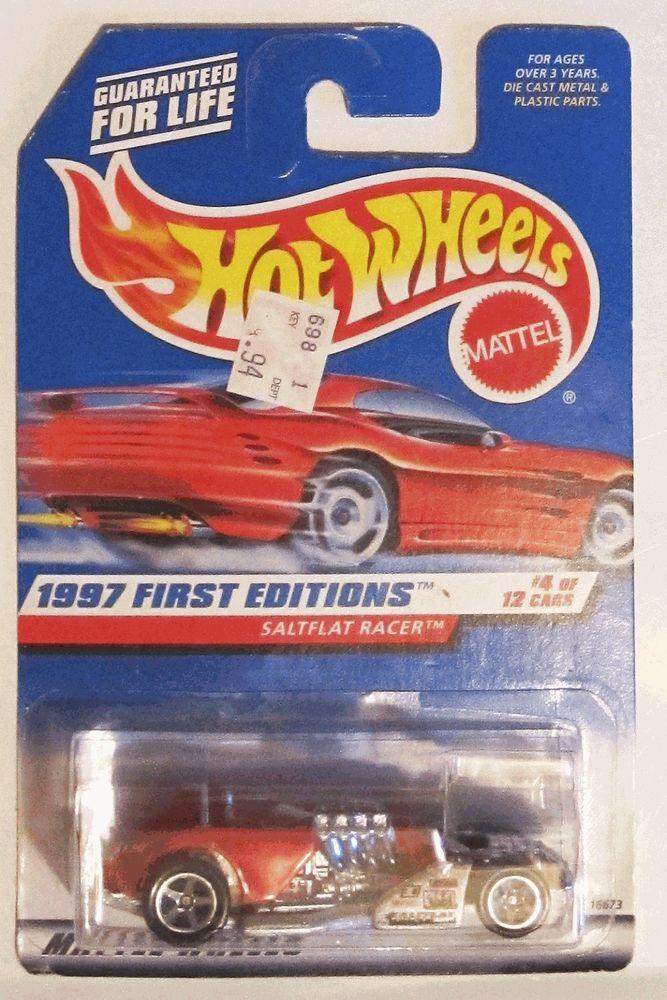 hot wheels saltflat racer first editions 1997 4 moc toy car 1 64 rh pinterest com