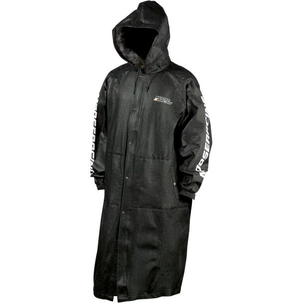 """MOOSE RACING 2014/15 MUD COAT.  Ultra-Light technology, 100% nonwoven polypropylene. Waterproof and breathable.  """"VISIT SITE"""" ABOVE FOR ALL INFO."""