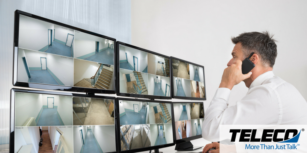 Video surveillance/access control systems are now
