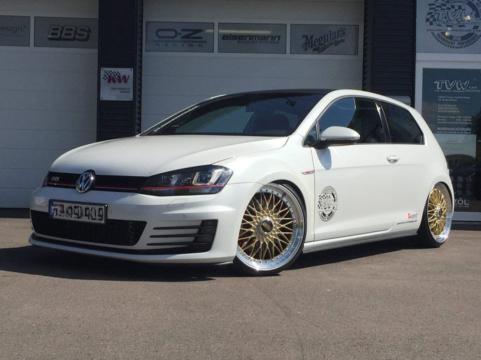 Akrapovic Vw Golf 7 Gti Bbs Super Rs Tuning Tvw 8 Golf Vw Golf