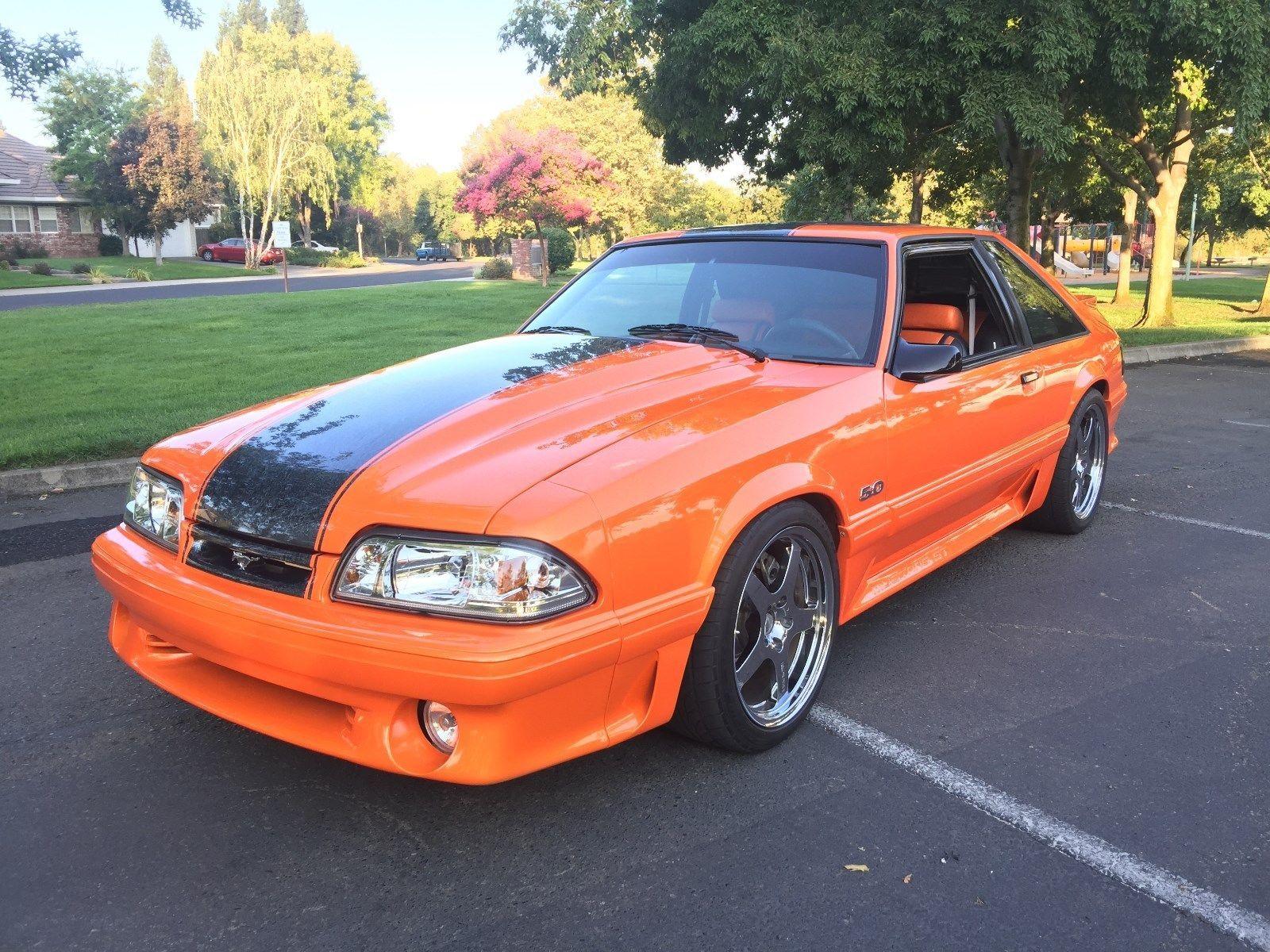 Ebay 1992 Ford Mustang Gt Keith Craft 550hp Tremec Tko600 5 Speed