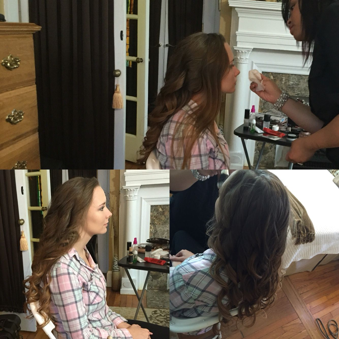 Behind The Scenes Of Onsite Hair Styling Travelinghairstylist