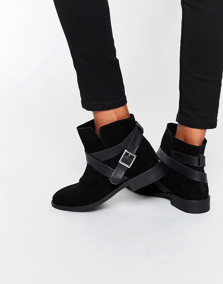 alex suede slouch ankle boots shoe love pinterest boots  image 1 of asos alex suede slouch ankle boots