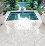 white marble pool deck - google search | mykonos | pinterest