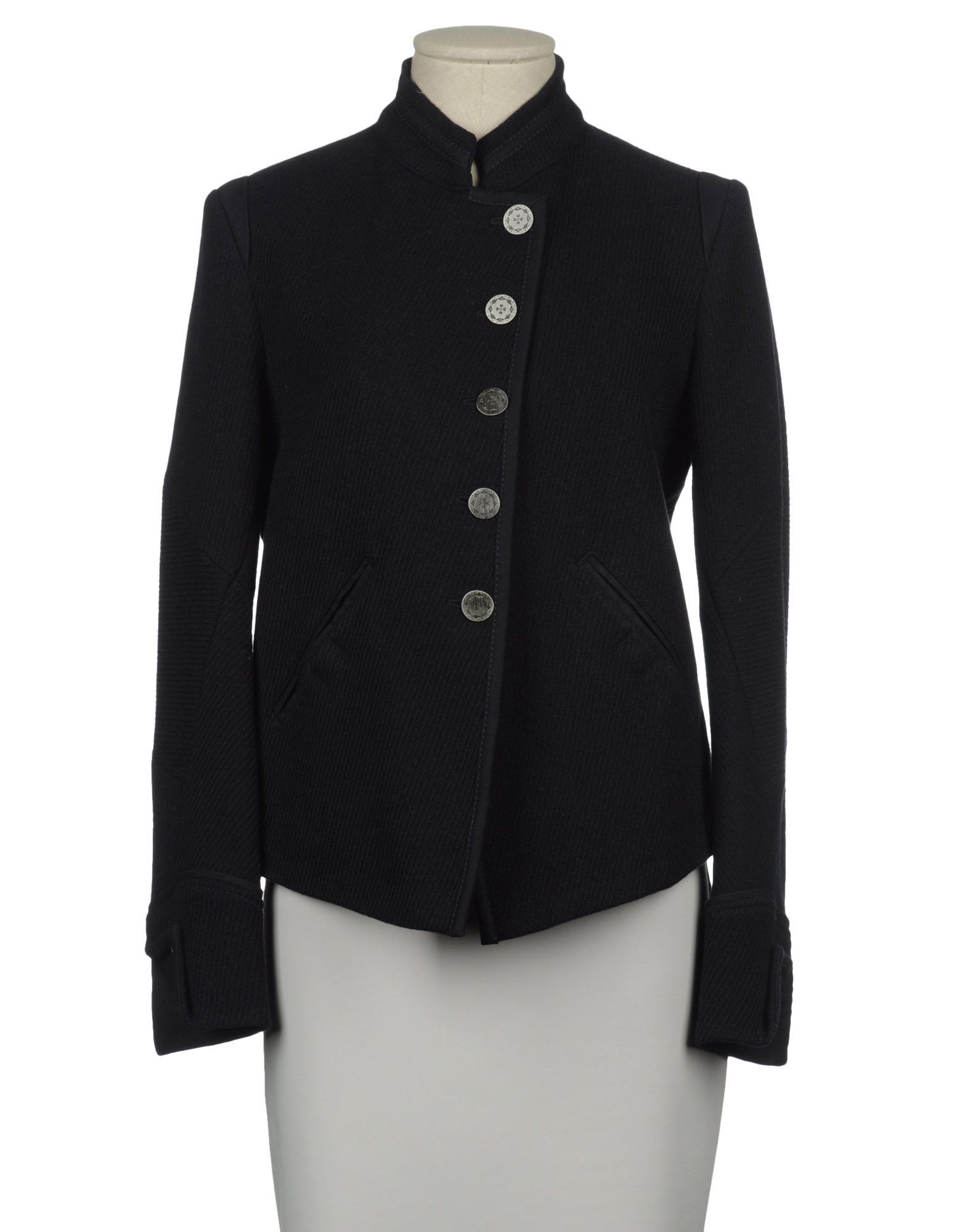 0f1aeee43fb569 LJD MARITHE' FRANCOIS GIRBAUD Women - Coats & jackets - Jacket LJD MARITHE'  FRANCOIS GIRBAUD on YOOX United States Nice clean military styling!