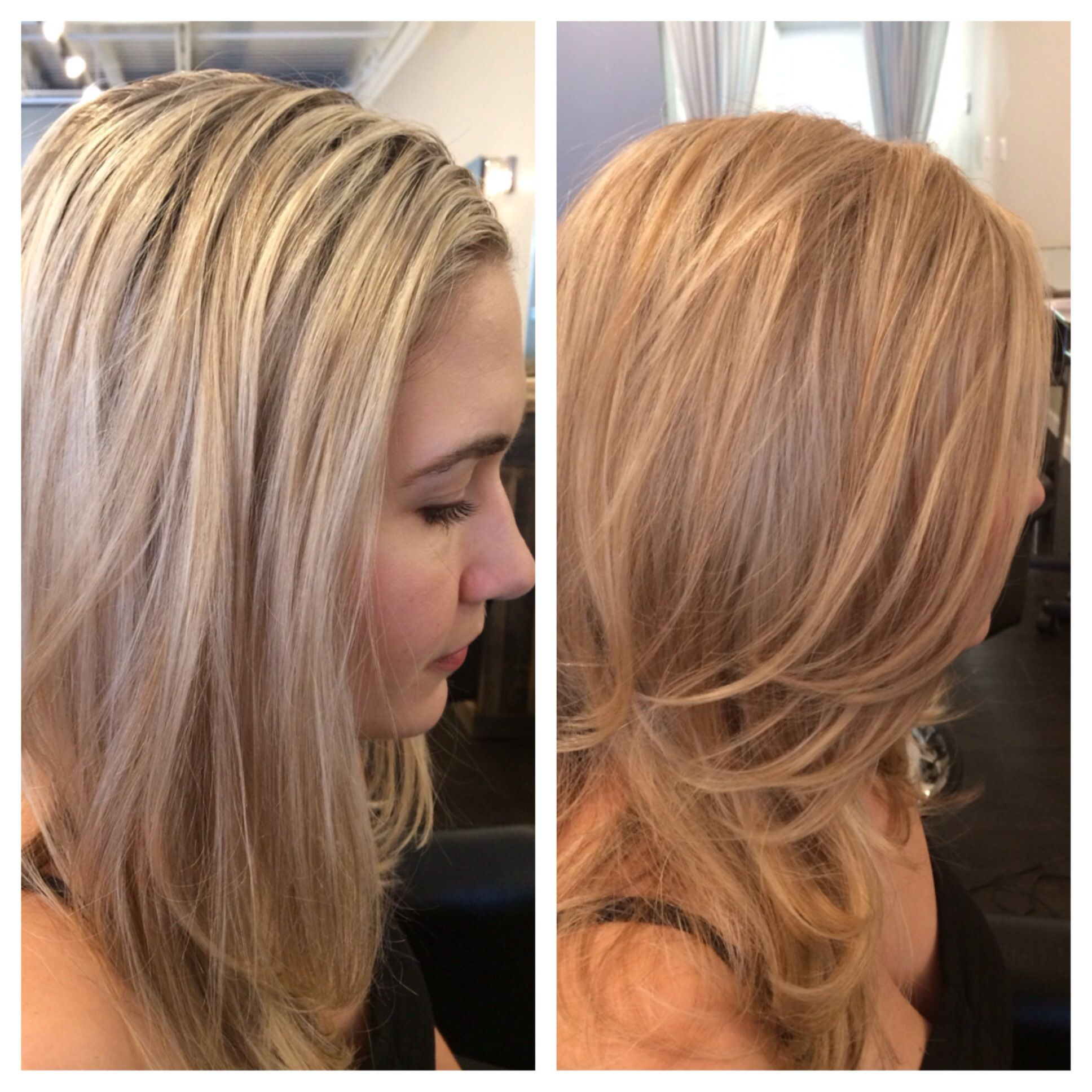 From The Neck Up Beauty Hair Hair Color