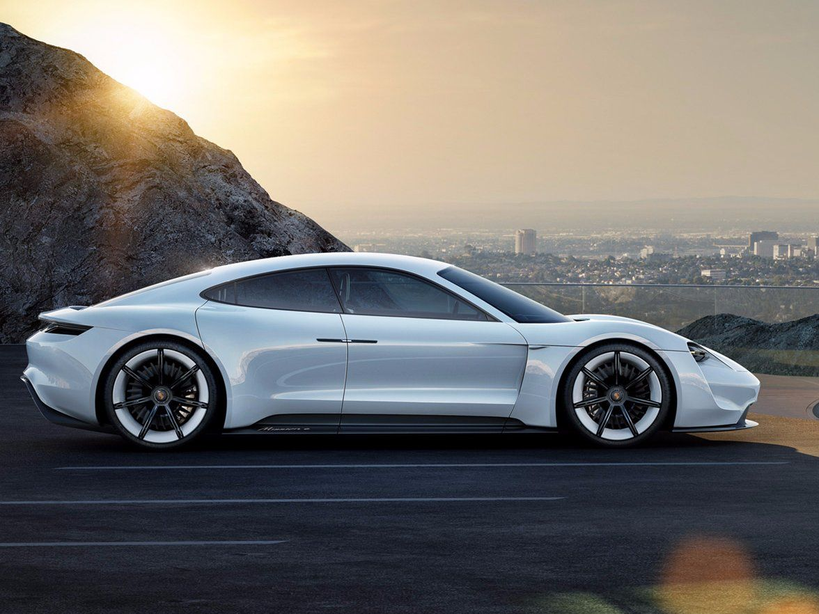 Porsche Will Take On Tesla With This Sleek All Electric Sports Car